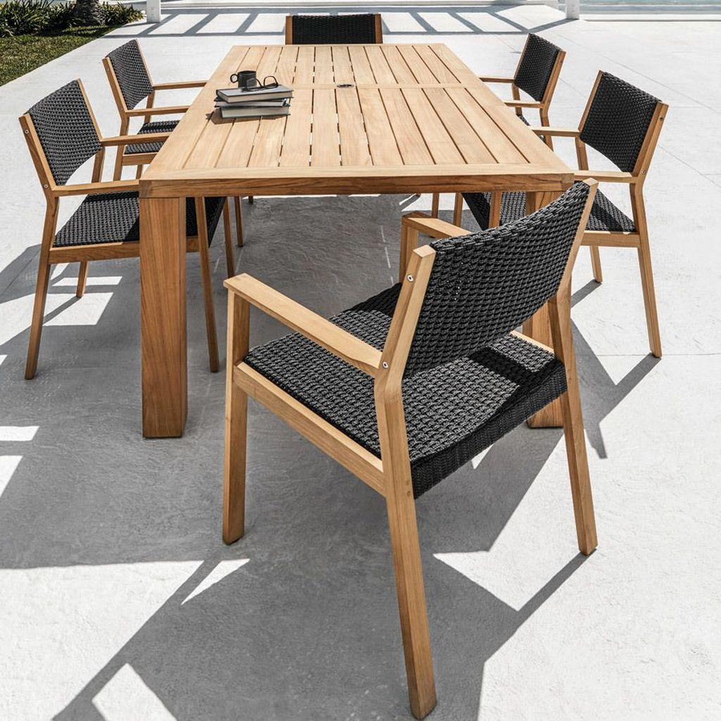 Inspiring Outdoor Dining Table Design Ideas 13