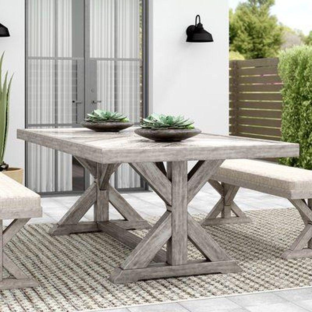 Inspiring Outdoor Dining Table Design Ideas 27