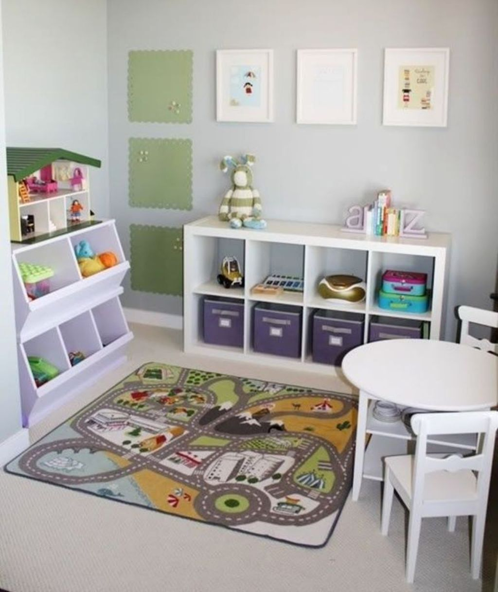 Nice Playroom Design Ideas For Your Kids 02