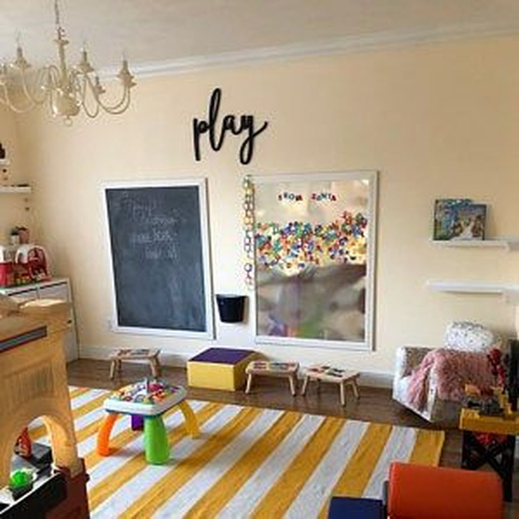 Nice Playroom Design Ideas For Your Kids 15