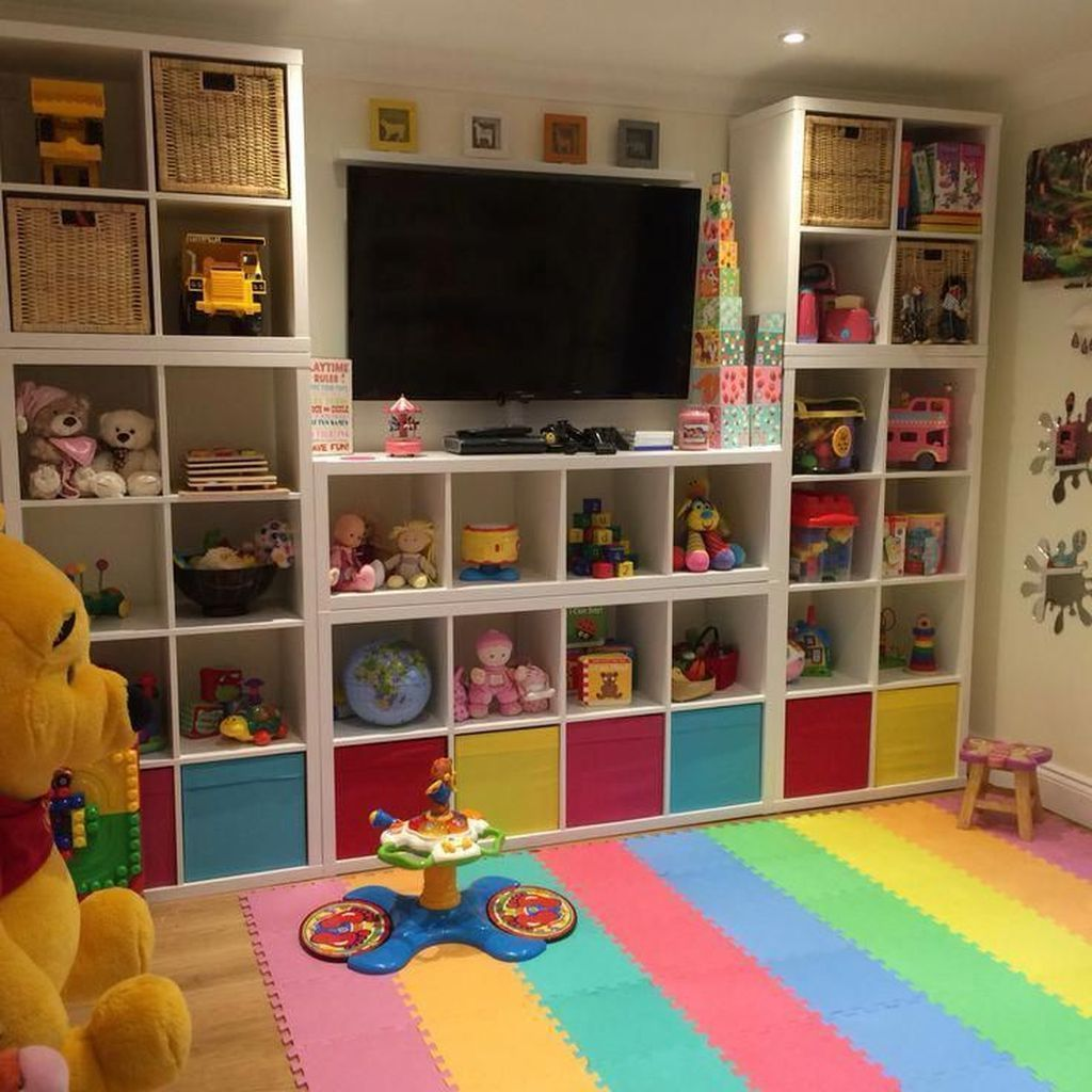 Nice Playroom Design Ideas For Your Kids 21