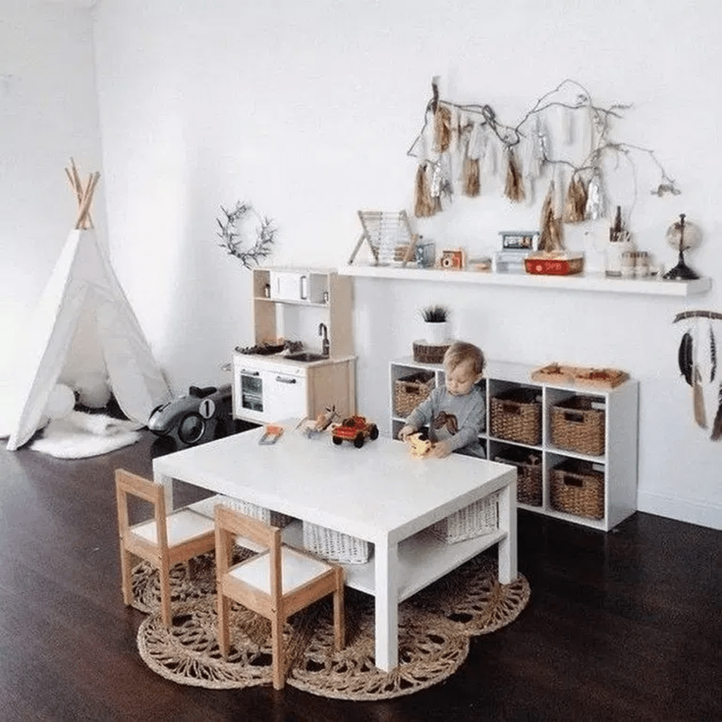 Nice Playroom Design Ideas For Your Kids 27
