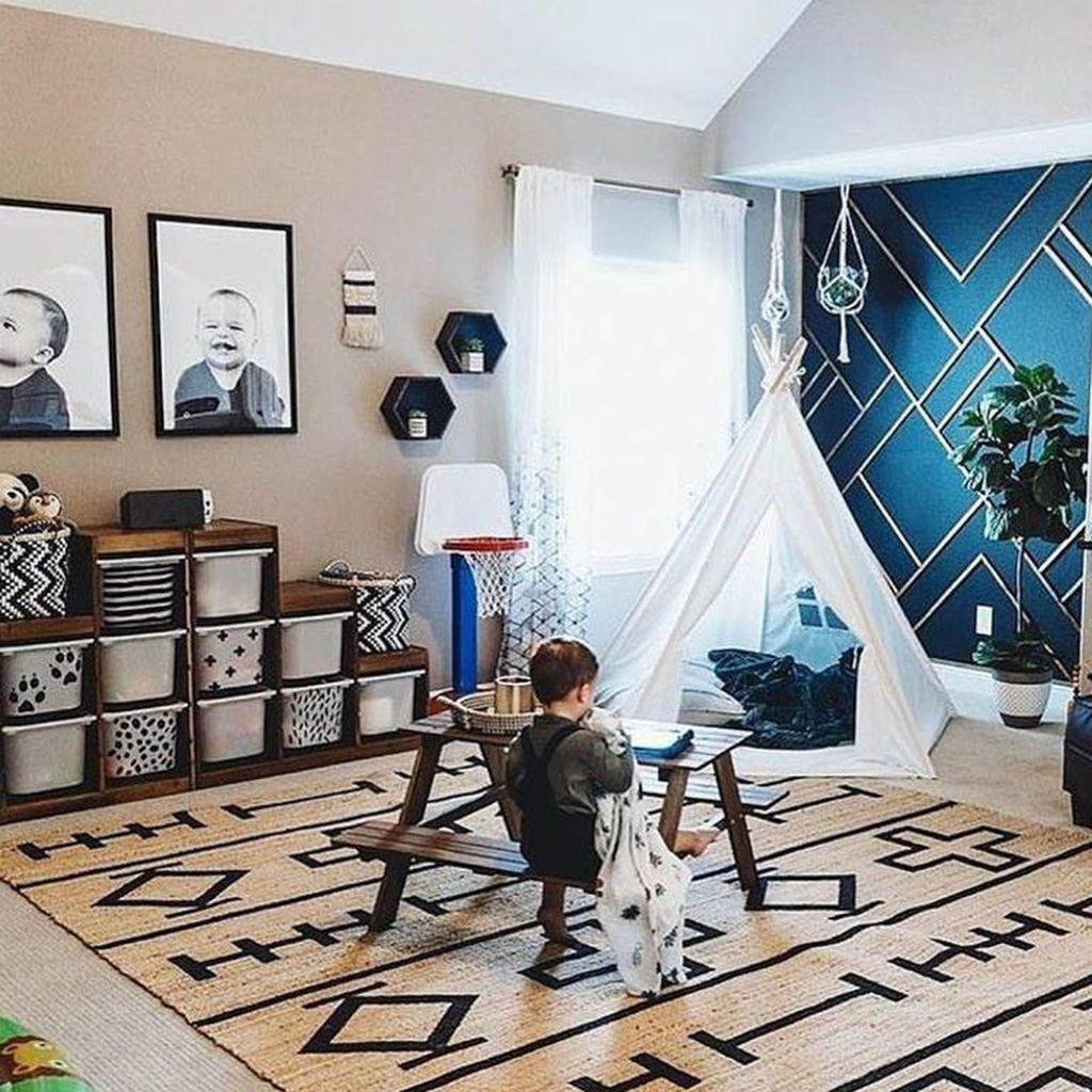 Nice Playroom Design Ideas For Your Kids 28