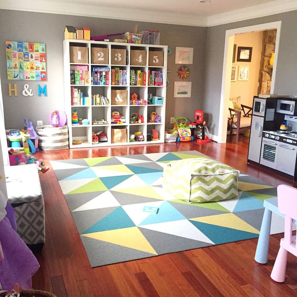 Nice Playroom Design Ideas For Your Kids 31