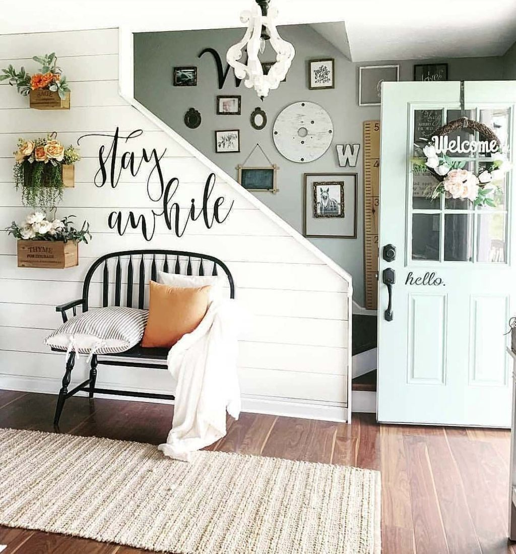Popular Entryway Decor Ideas You Should Copy Now 14