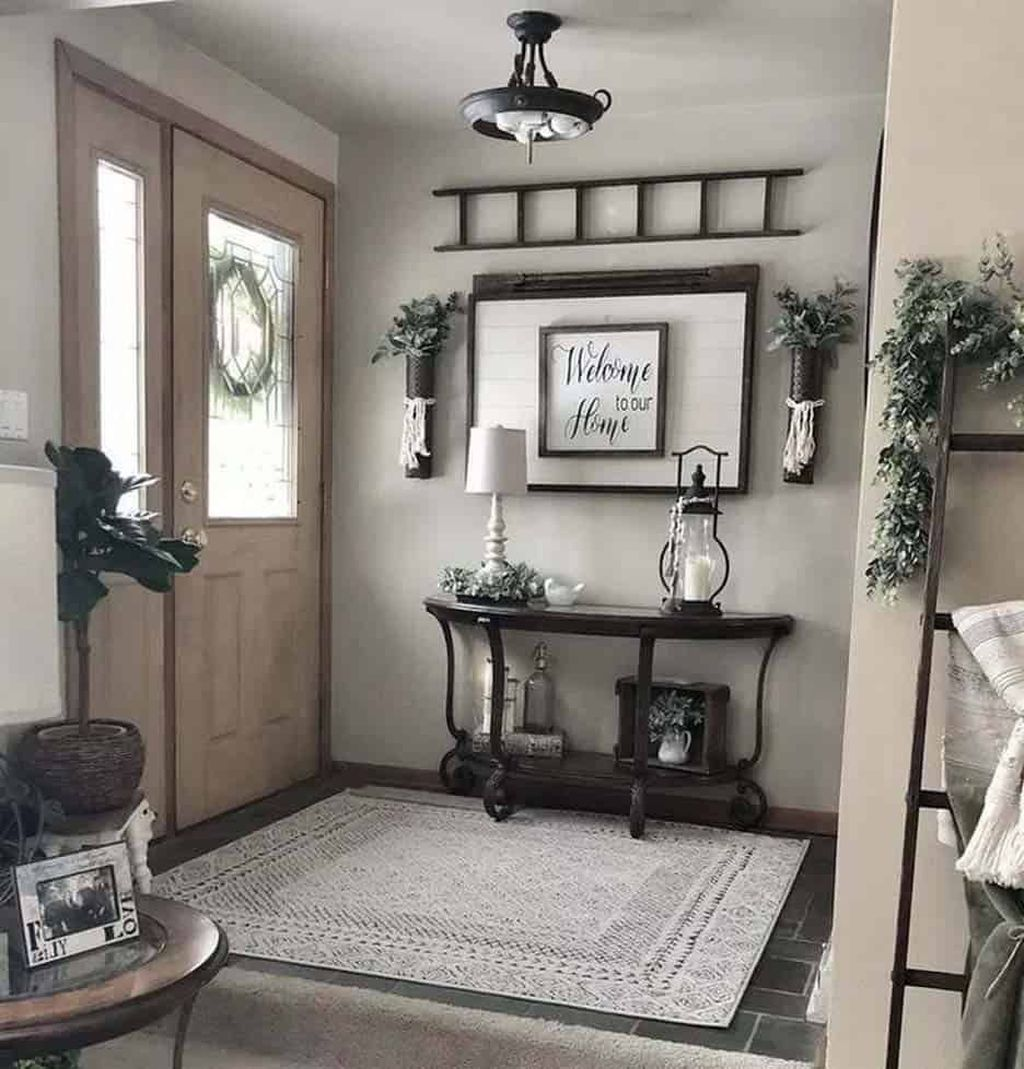 Popular Entryway Decor Ideas You Should Copy Now 17