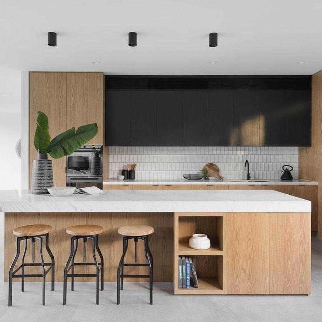 Popular Minimalist Kitchen Design Ideas You Never Seen Before 06