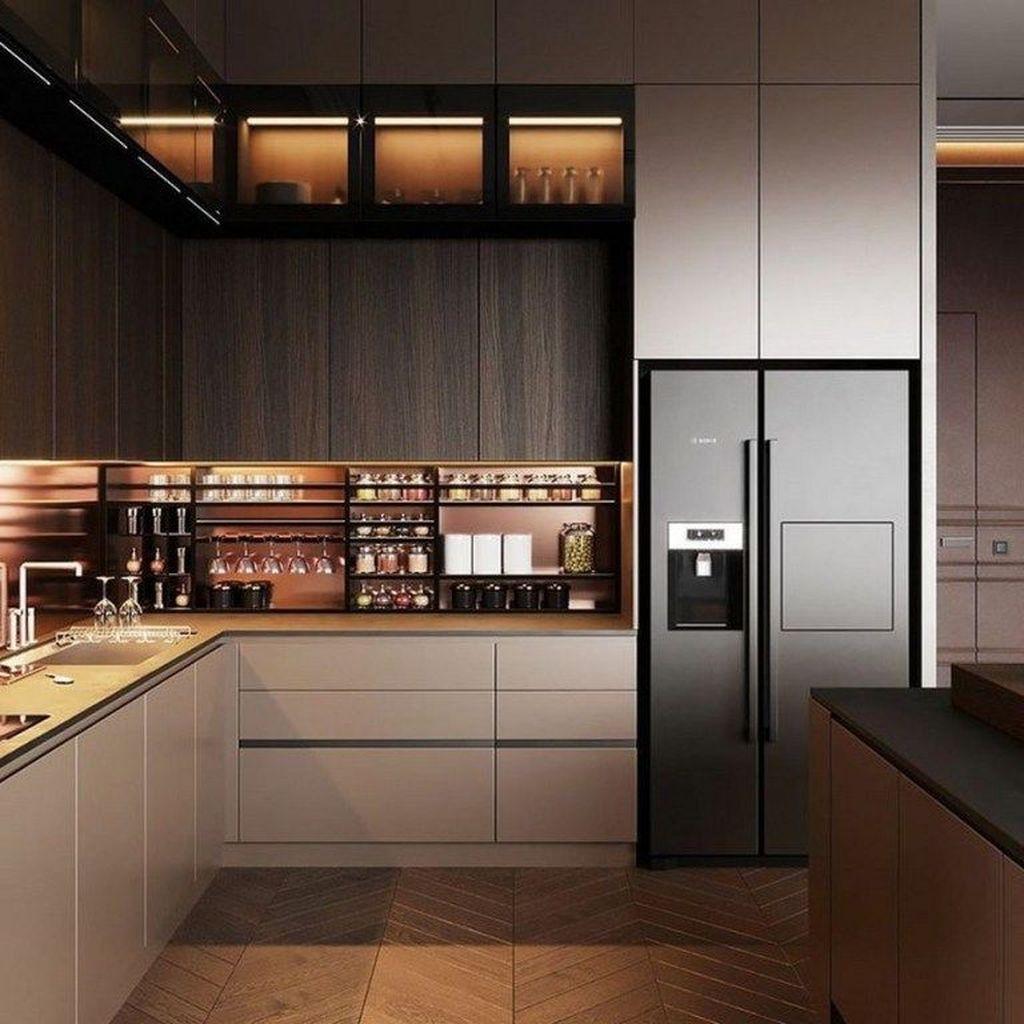Popular Minimalist Kitchen Design Ideas You Never Seen Before 17