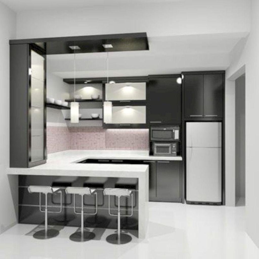 Popular Minimalist Kitchen Design Ideas You Never Seen Before 18