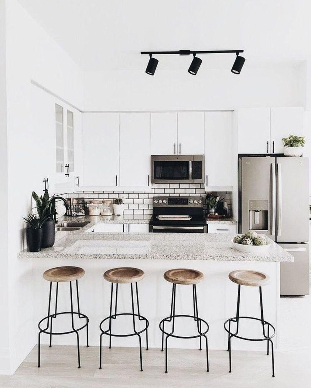 Popular Minimalist Kitchen Design Ideas You Never Seen Before 24