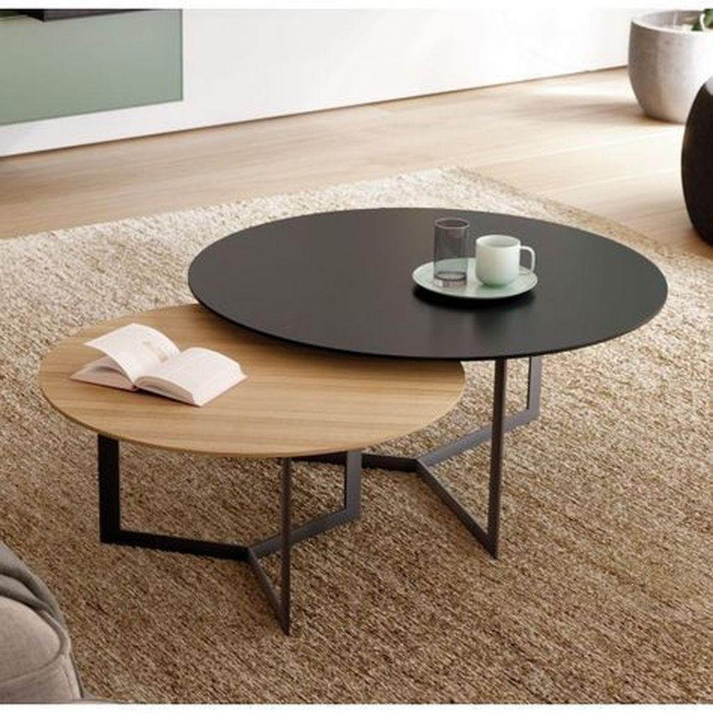 Stunning Coffee Table Design Ideas To Decorate Your Living Room 03