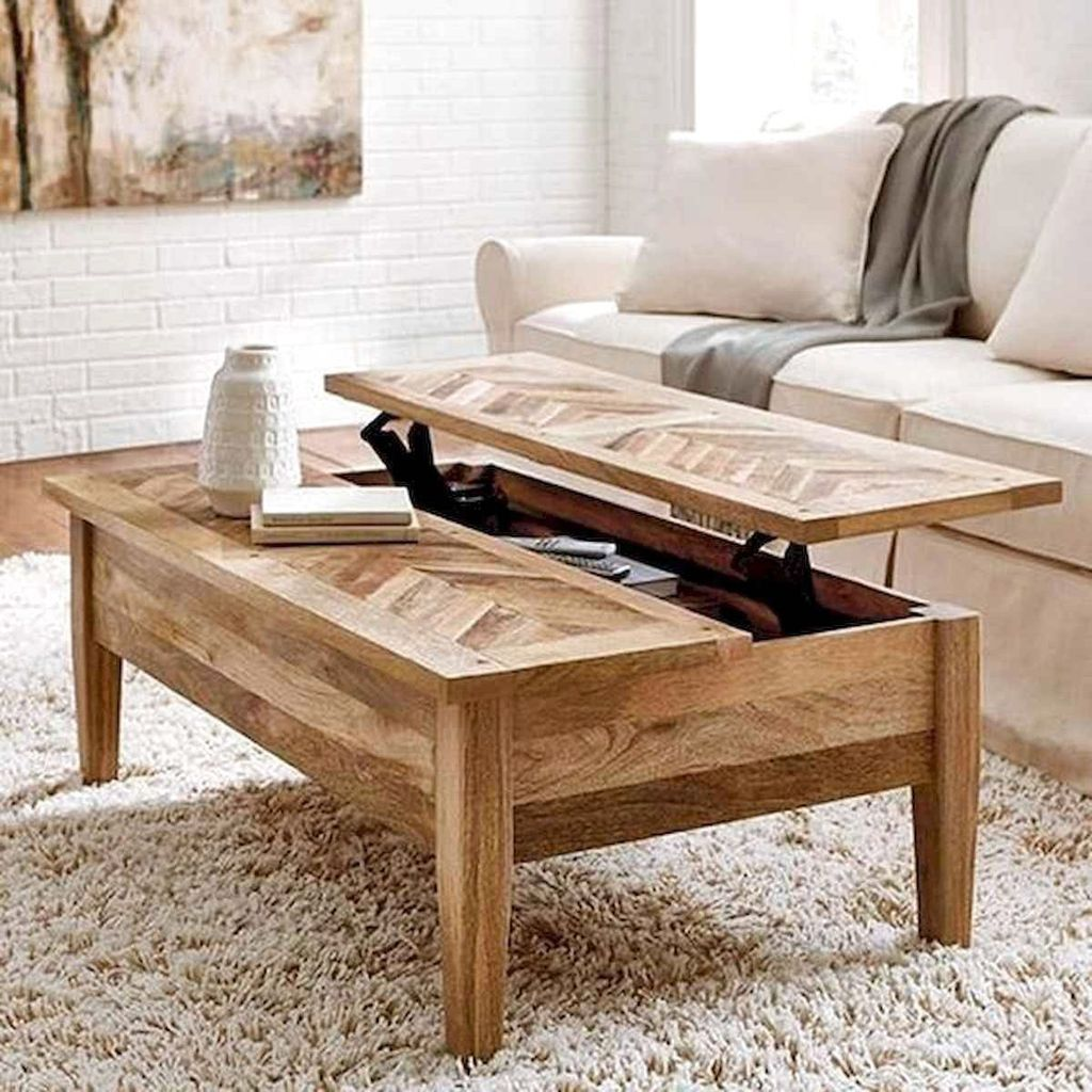 Stunning Coffee Table Design Ideas To Decorate Your Living Room 08