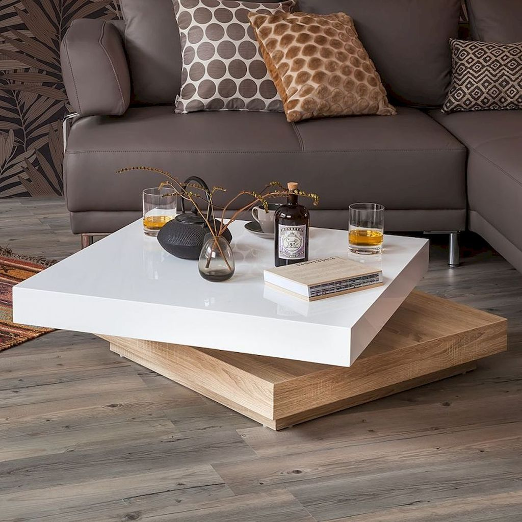 Stunning Coffee Table Design Ideas To Decorate Your Living Room 18