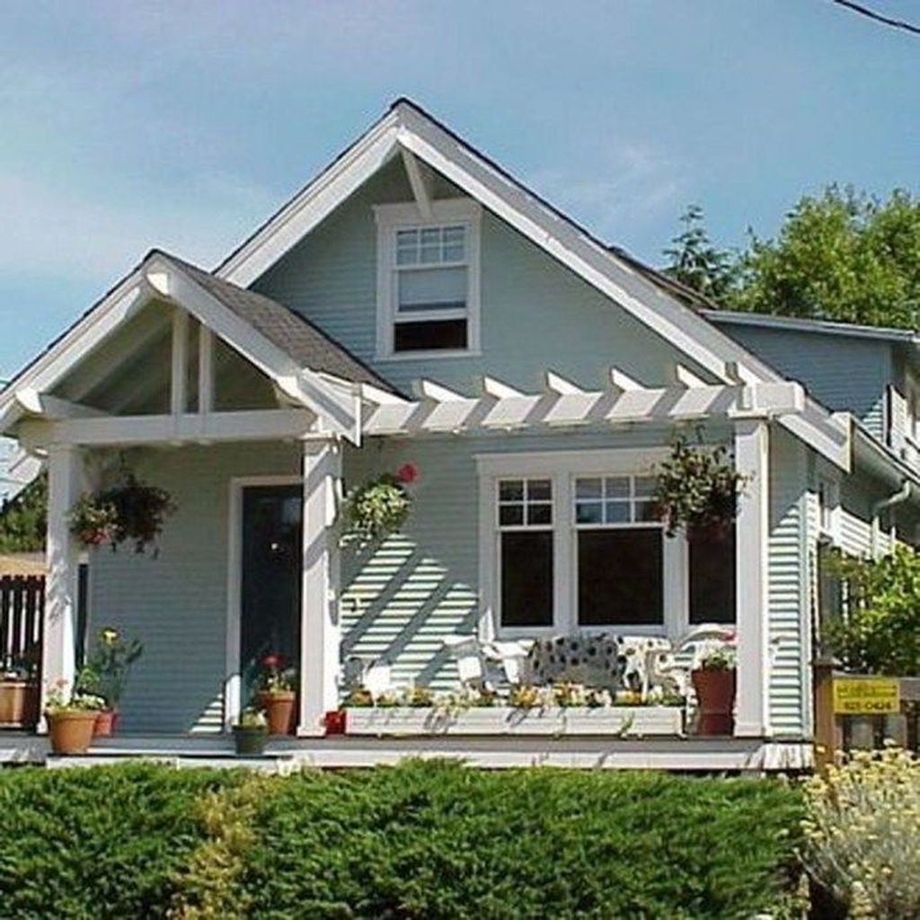 The Best Small Front Porch Ideas To Beautify Your Home 14