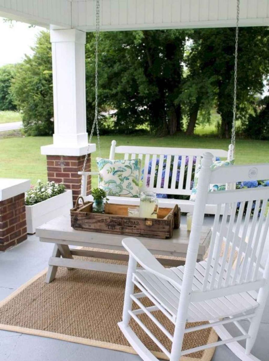 The Best Small Front Porch Ideas To Beautify Your Home 15