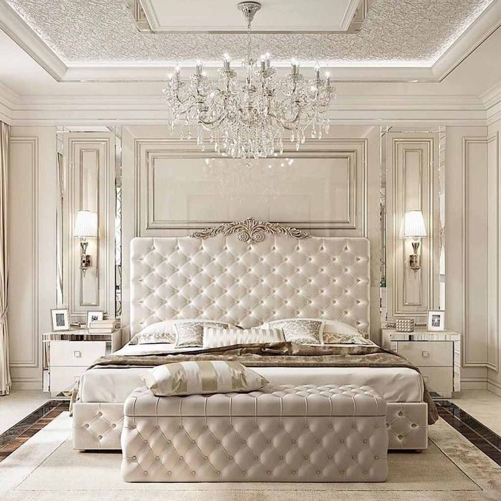 Wonderful Luxury Bedroom Design Ideas You Will Love 09
