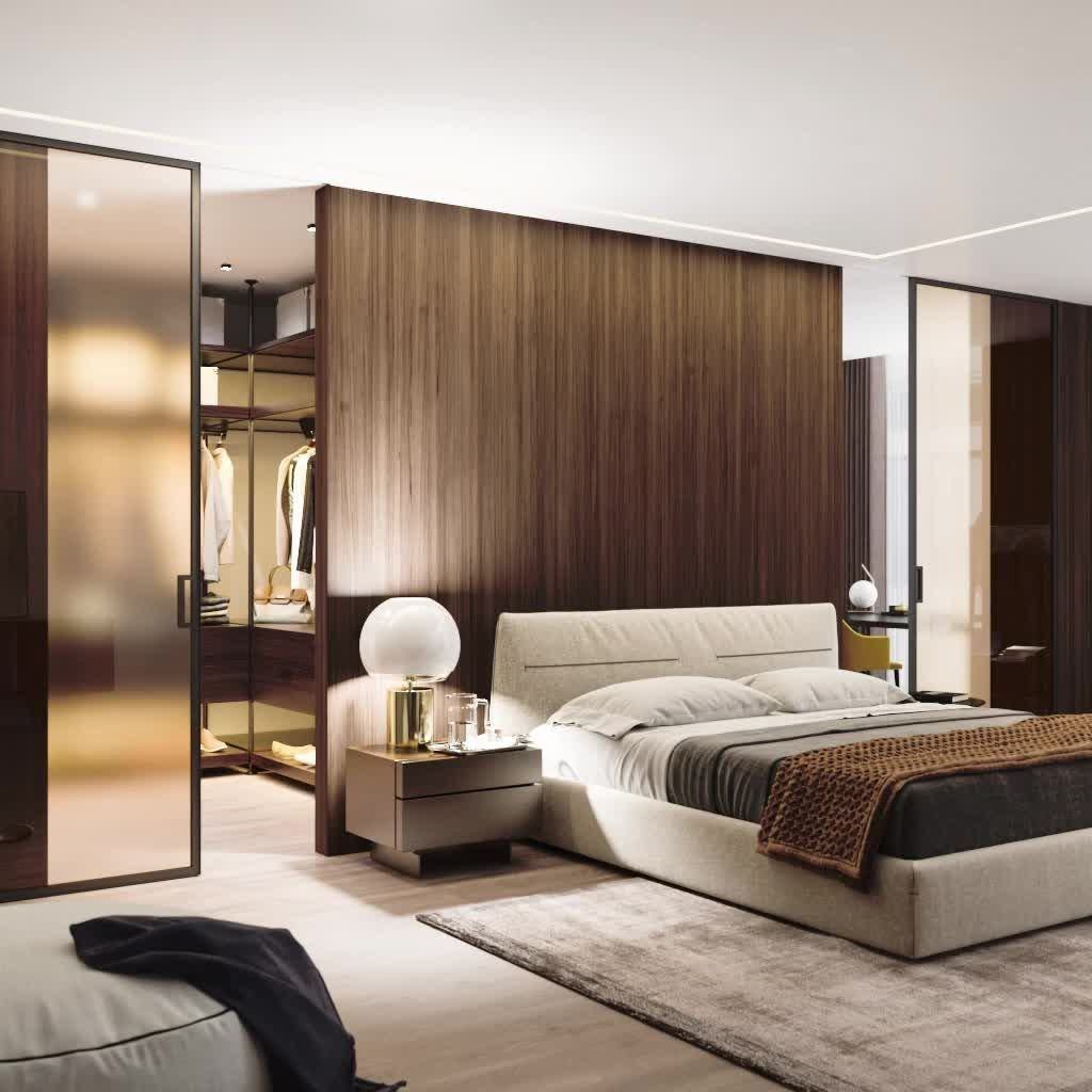 Wonderful Luxury Bedroom Design Ideas You Will Love 15