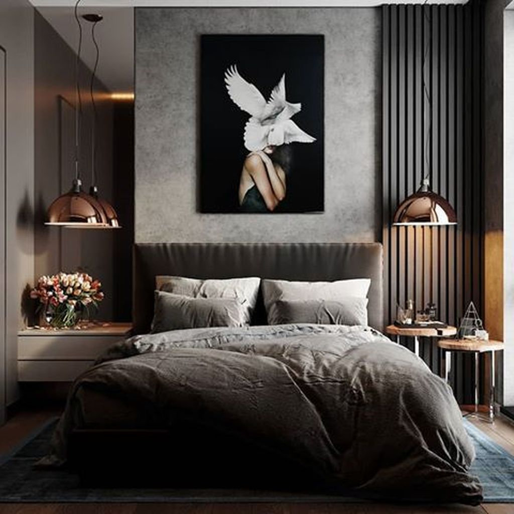 Wonderful Luxury Bedroom Design Ideas You Will Love 17