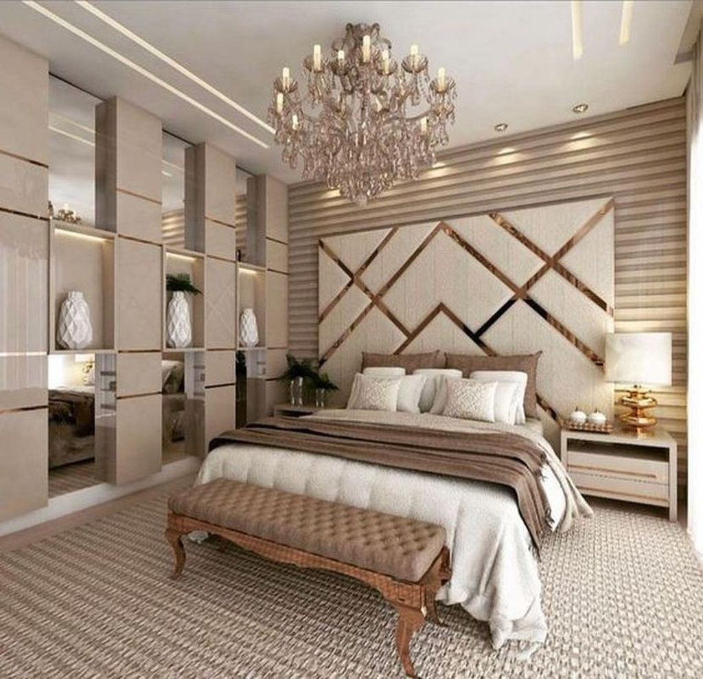 Wonderful Luxury Bedroom Design Ideas You Will Love 21