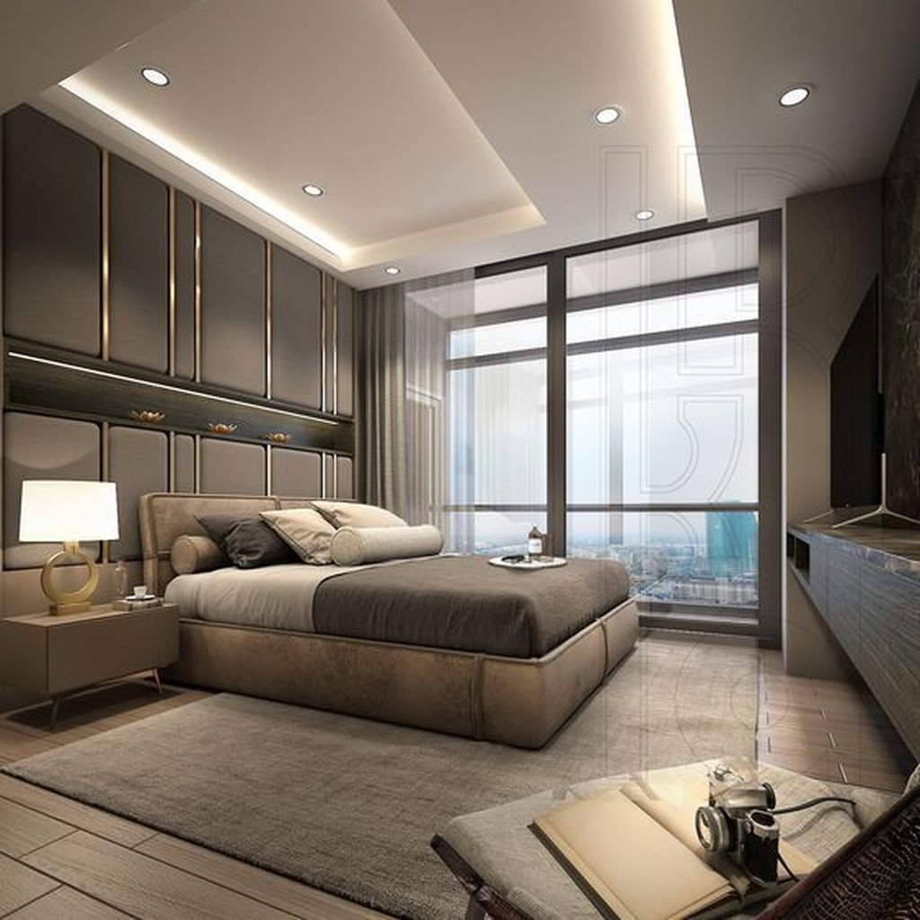 Wonderful Luxury Bedroom Design Ideas You Will Love 24