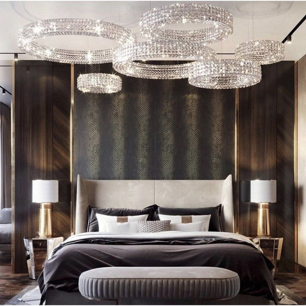 Wonderful Luxury Bedroom Design Ideas You Will Love 37