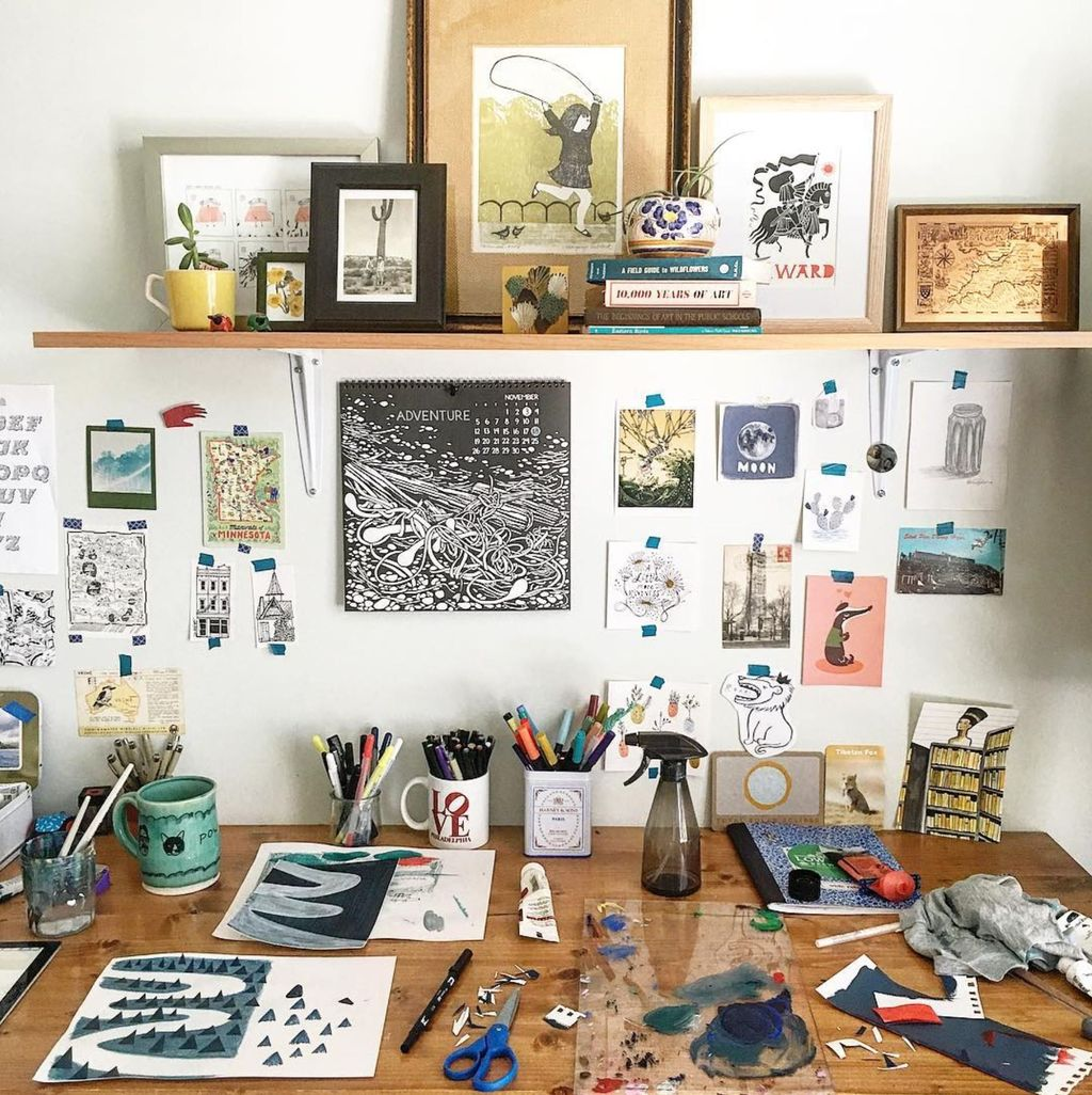 Wonderful Workspace Inspiration That You Have To Try 13