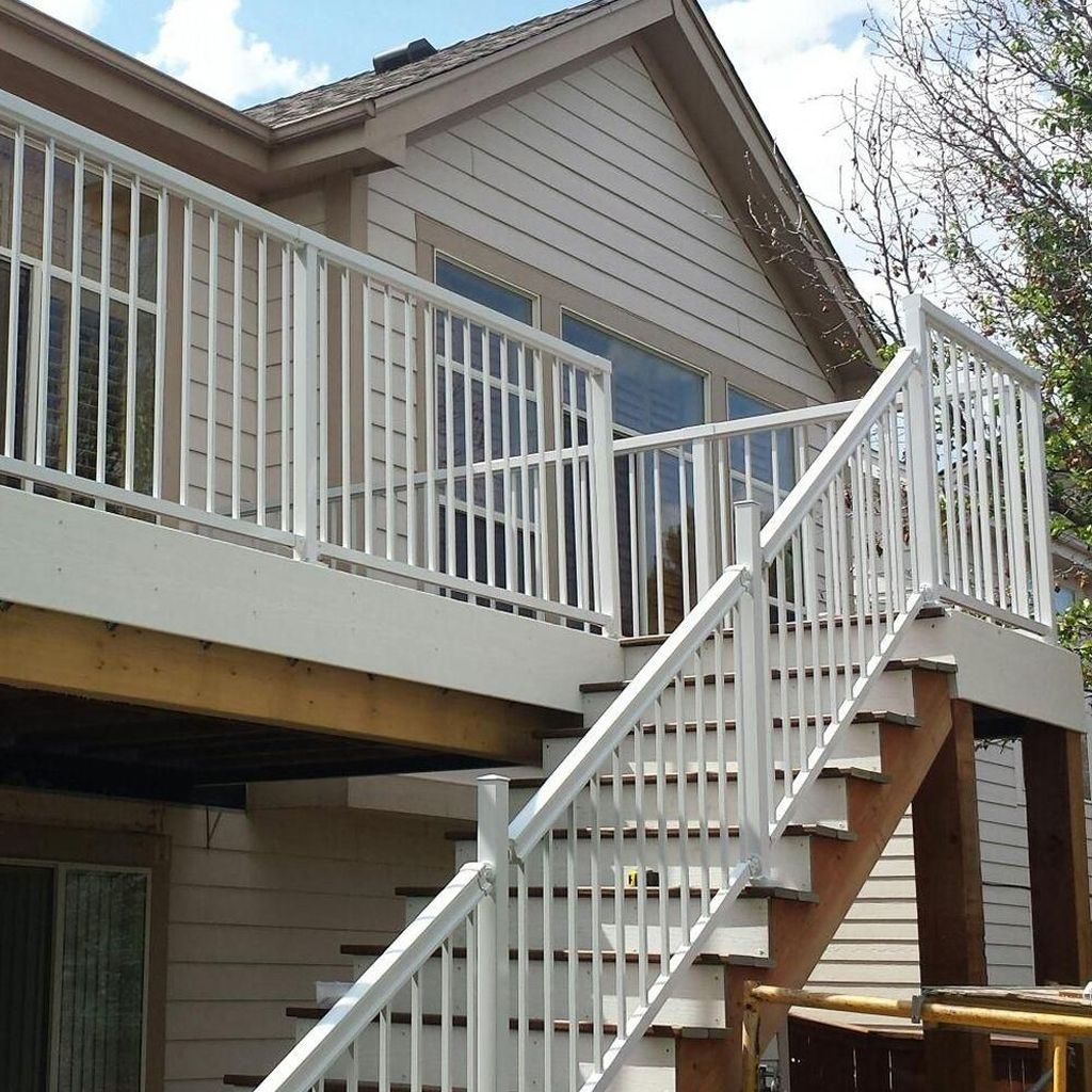 Awesome Balcony Railing Design Ideas To Beautify Your Exterior 04