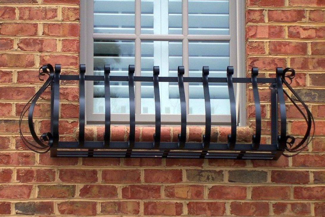 Awesome Balcony Railing Design Ideas To Beautify Your Exterior 06