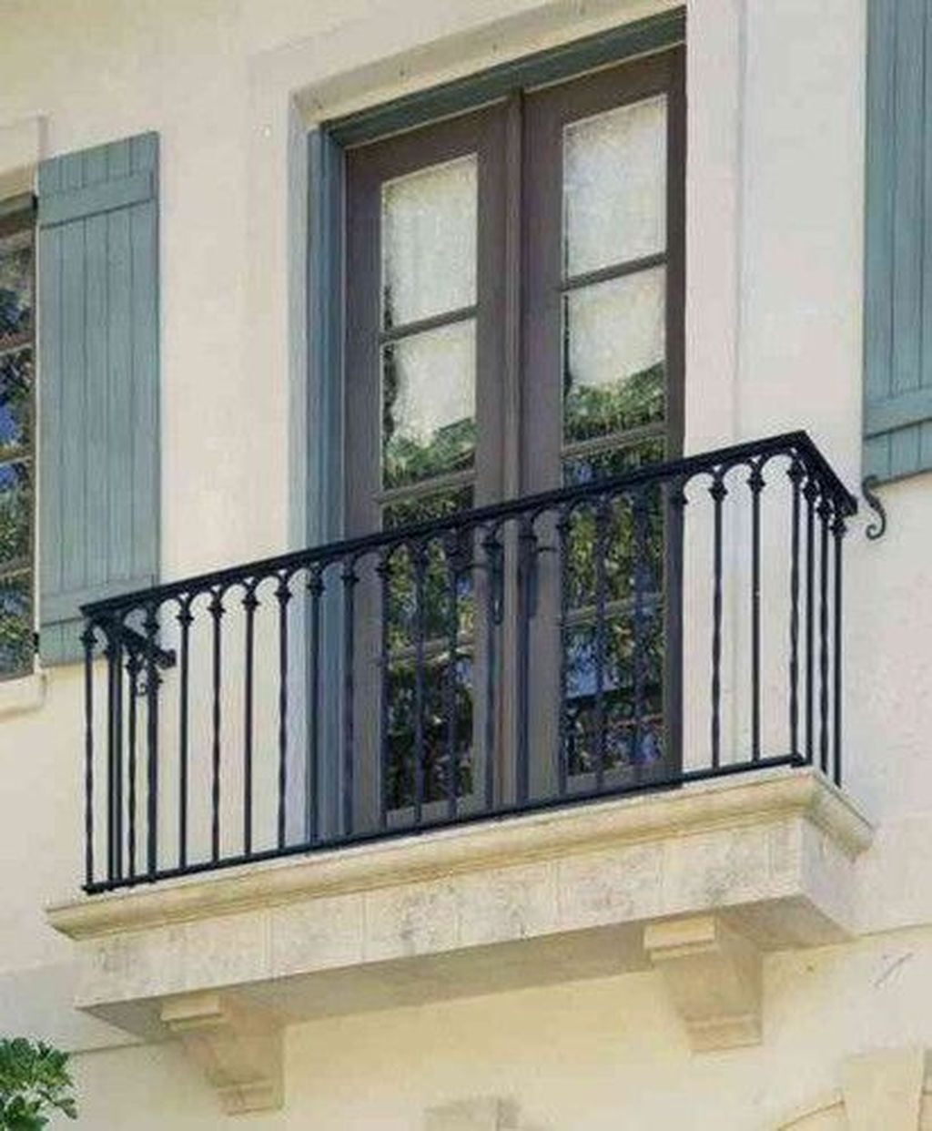 Awesome Balcony Railing Design Ideas To Beautify Your Exterior 14