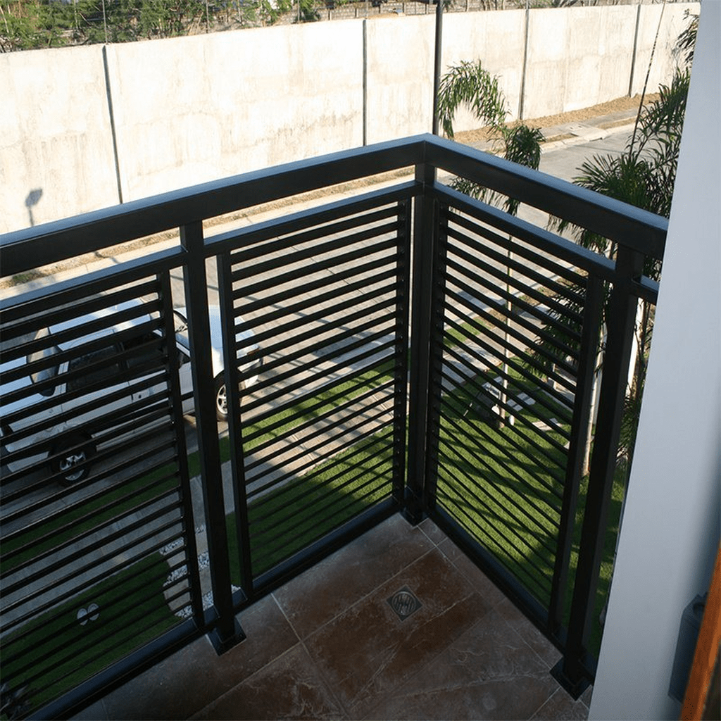 Awesome Balcony Railing Design Ideas To Beautify Your Exterior 17