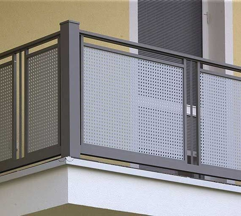 Awesome Balcony Railing Design Ideas To Beautify Your Exterior 31