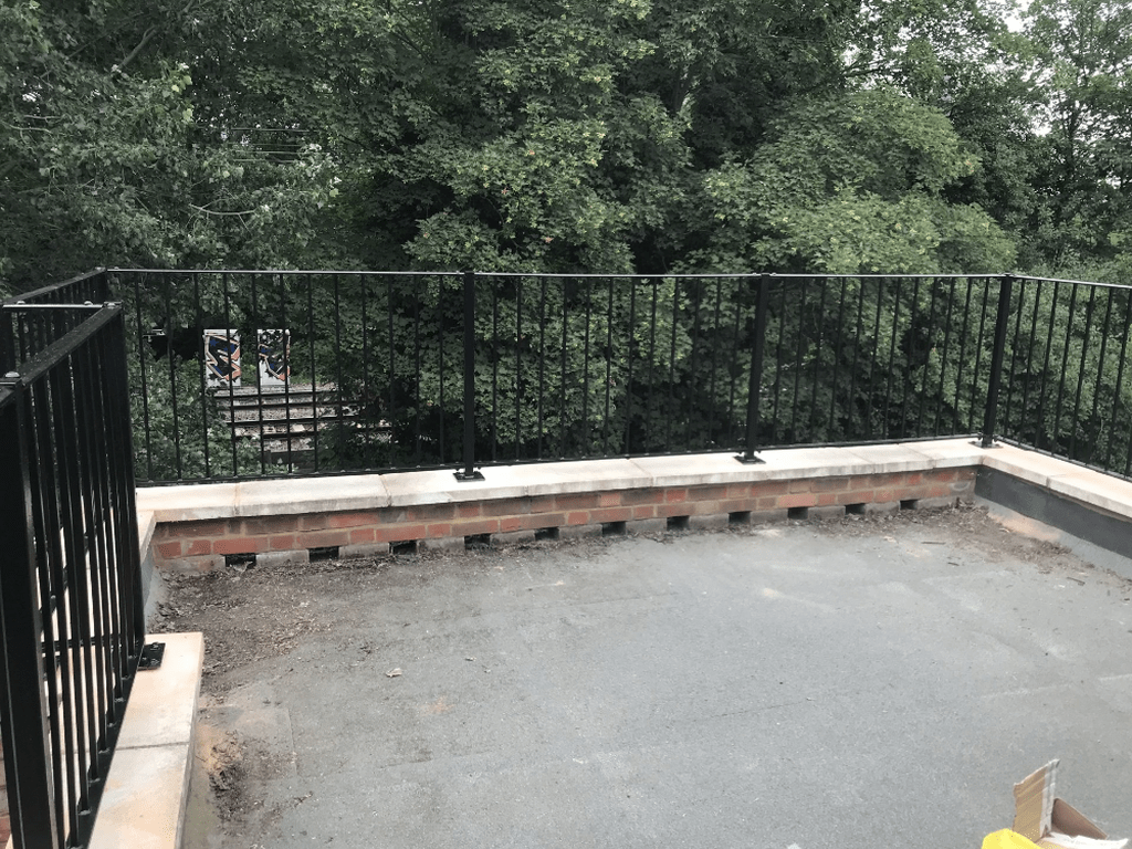 Awesome Balcony Railing Design Ideas To Beautify Your Exterior 35