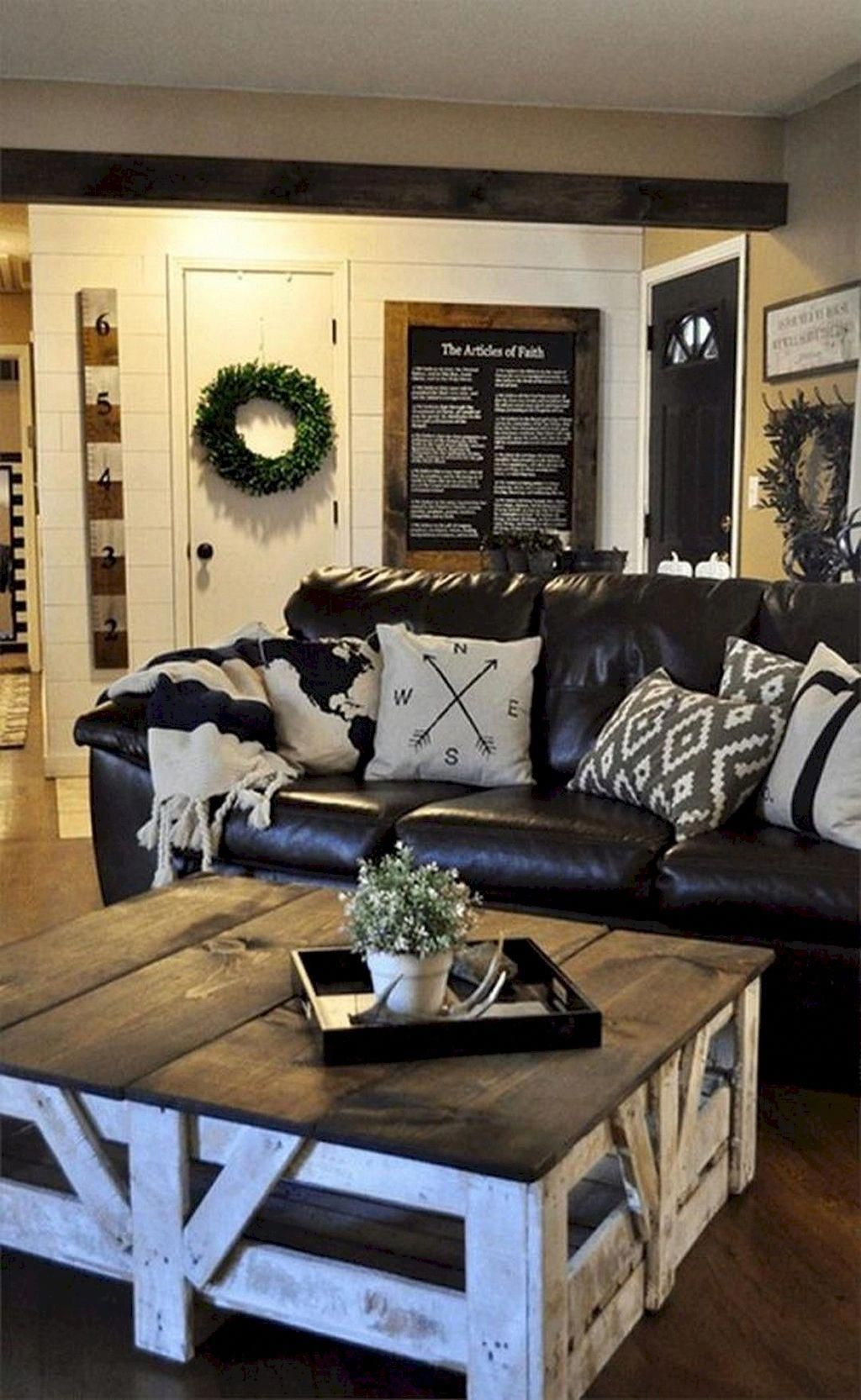 Awesome Rustic Furniture Ideas For Living Room Decor 08