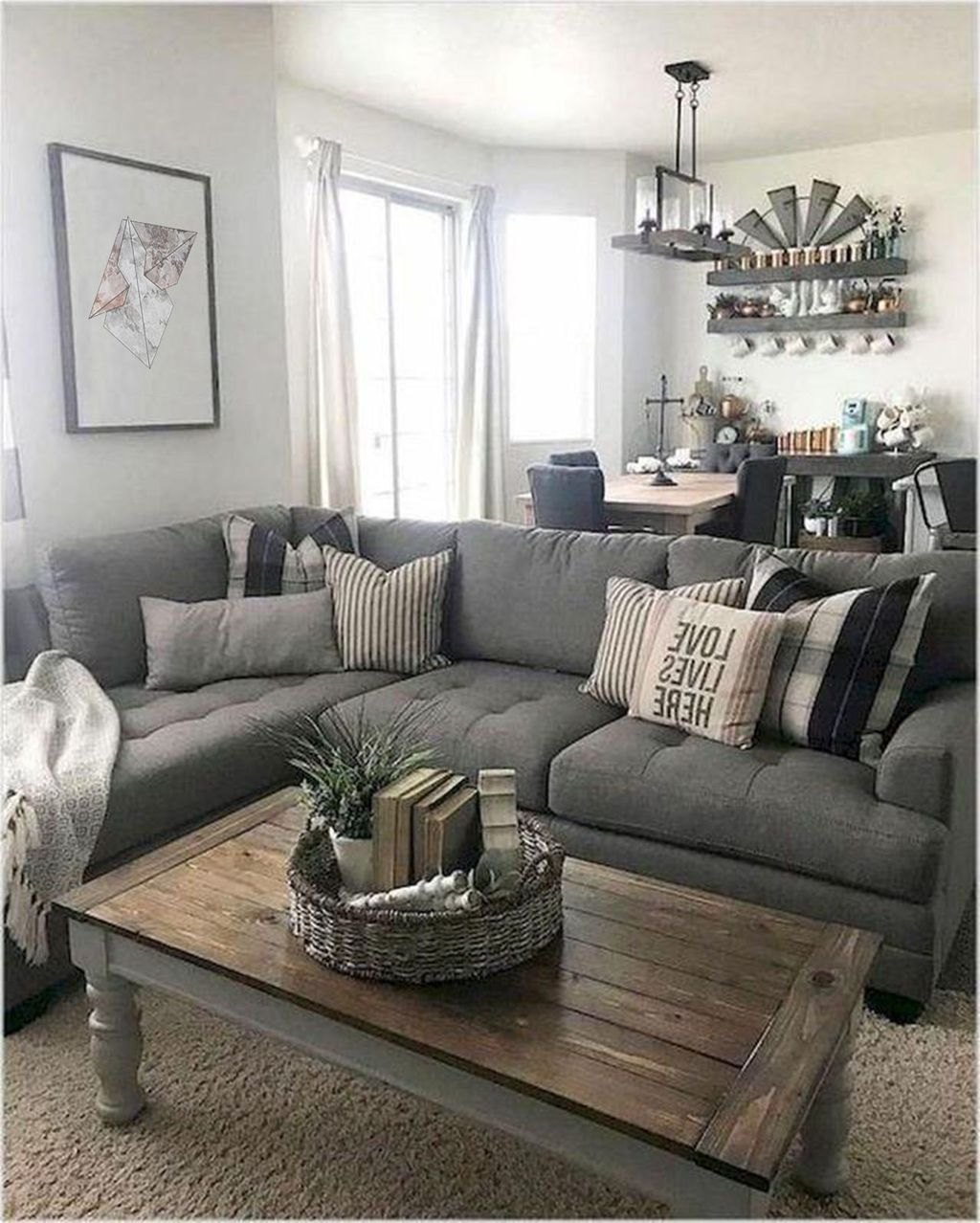 Awesome Rustic Furniture Ideas For Living Room Decor 22