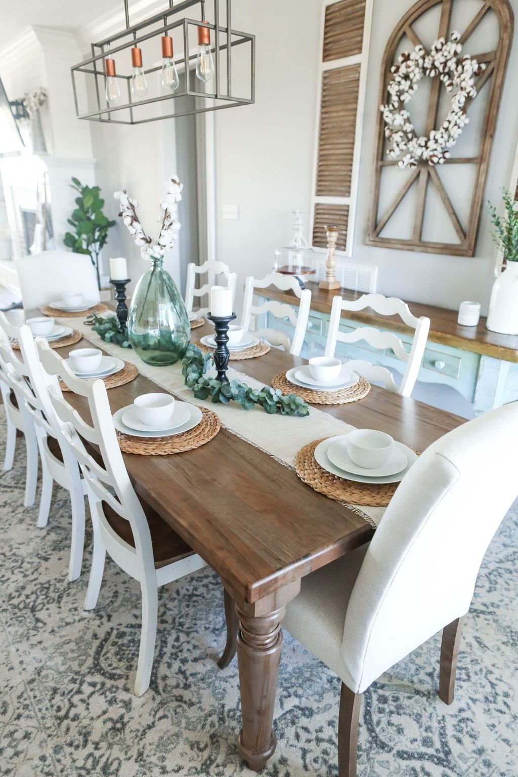 Awesome Spring Table Centerpieces With Farmhouse Style 06