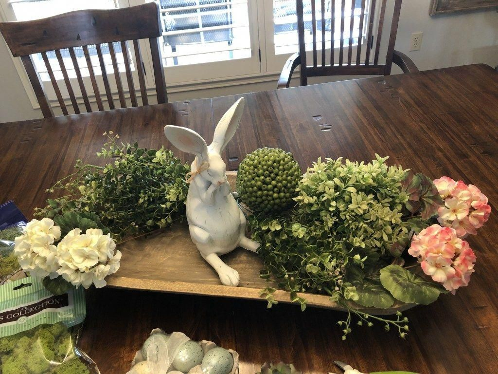 Awesome Spring Table Centerpieces With Farmhouse Style 13