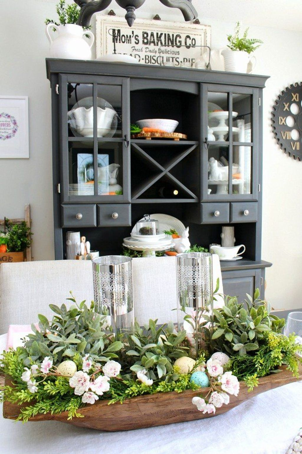 Awesome Spring Table Centerpieces With Farmhouse Style 22