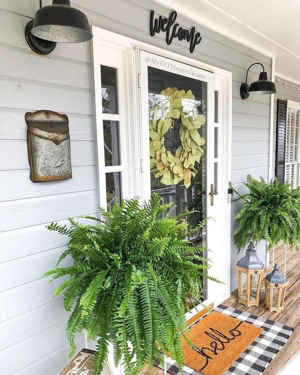 Beautiful Spring Outdoor Decor Ideas 27