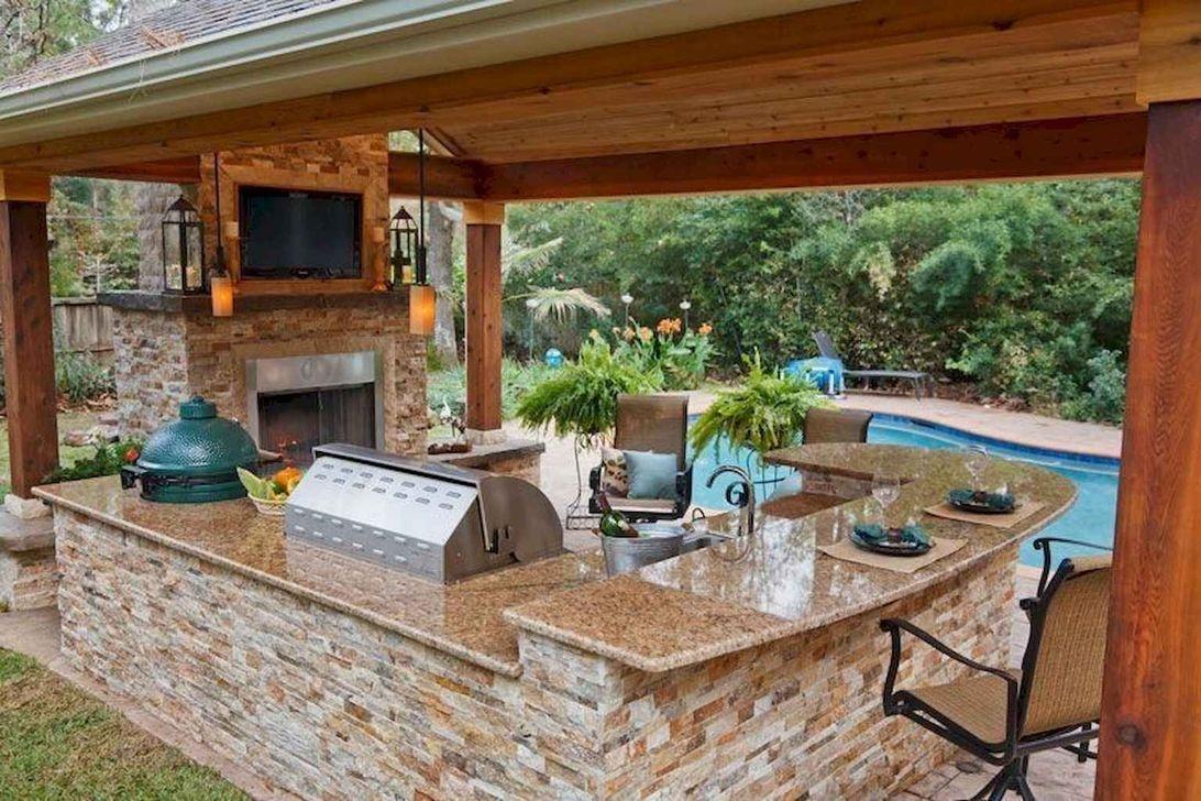 Fabulous Outdoor Kitchen Design Ideas 04