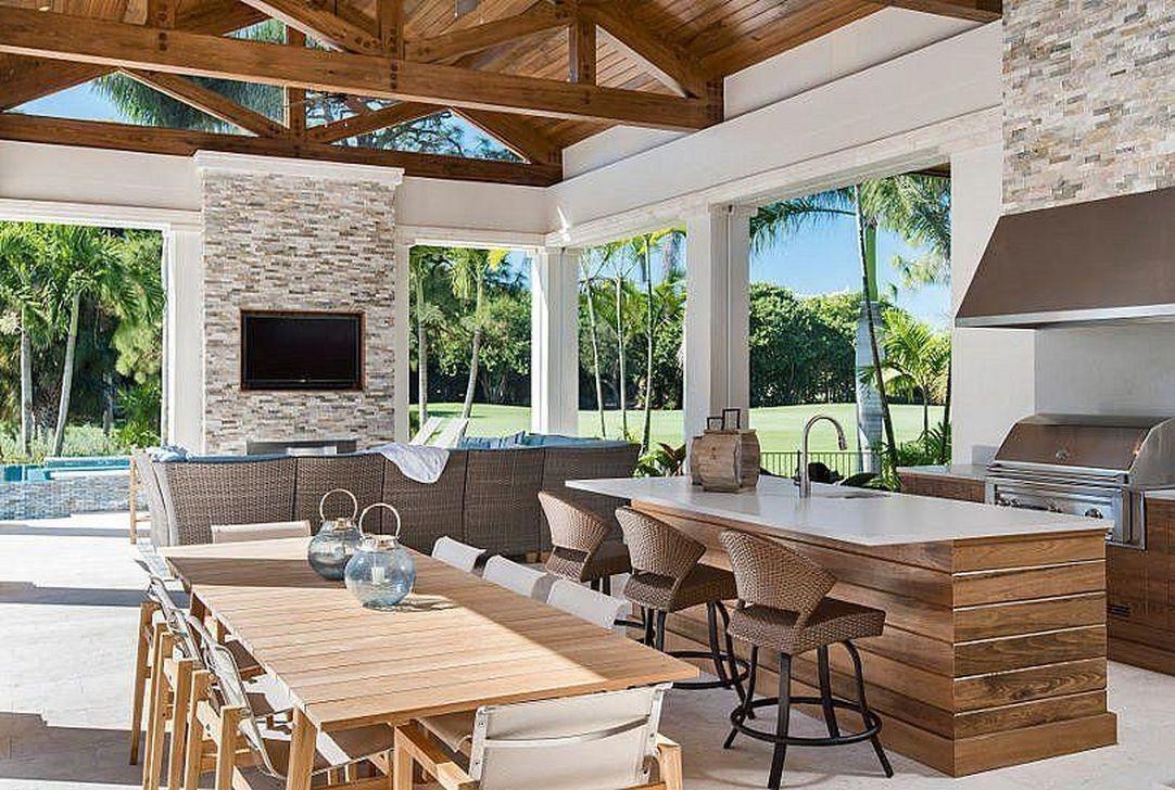 Fabulous Outdoor Kitchen Design Ideas 16