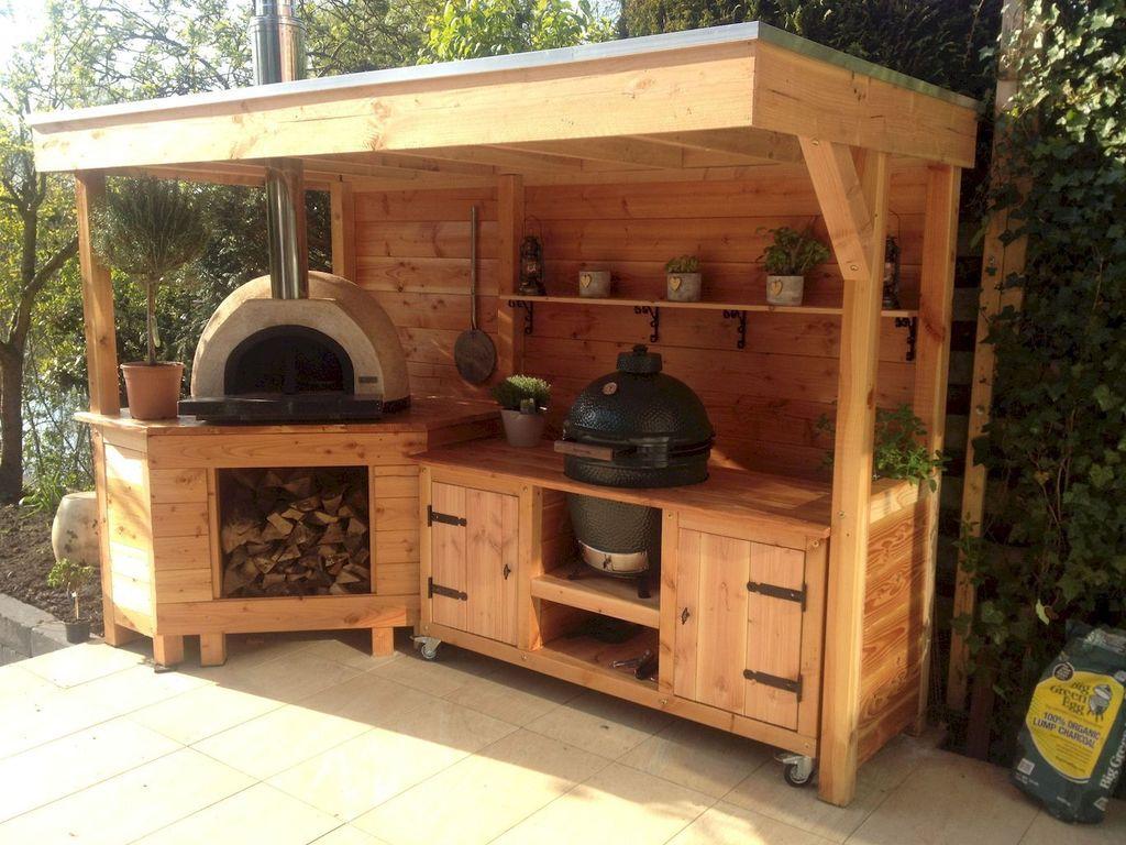 Fabulous Outdoor Kitchen Design Ideas 19