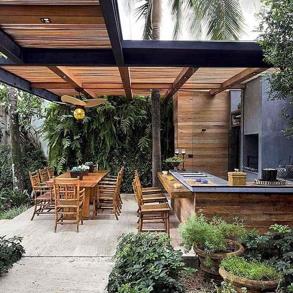 Fabulous Outdoor Kitchen Design Ideas 29