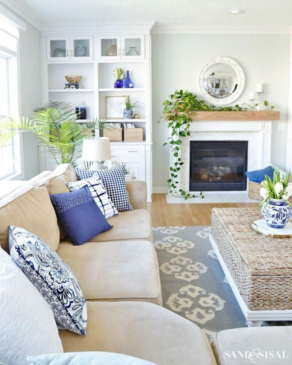 Fabulous Spring Living Room Decor Ideas 06