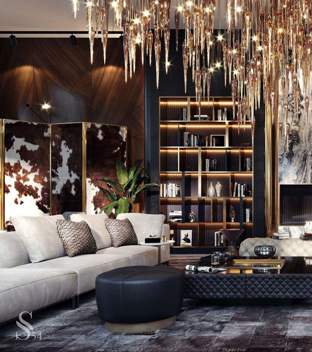 Gorgeous Luxury Modern Furniture For Living Room 09 1