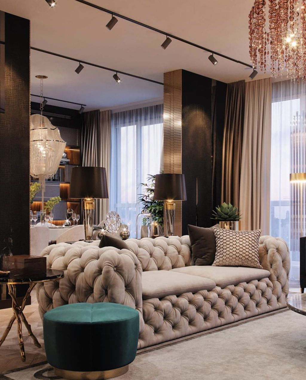 Gorgeous Luxury Modern Furniture For Living Room 12 1