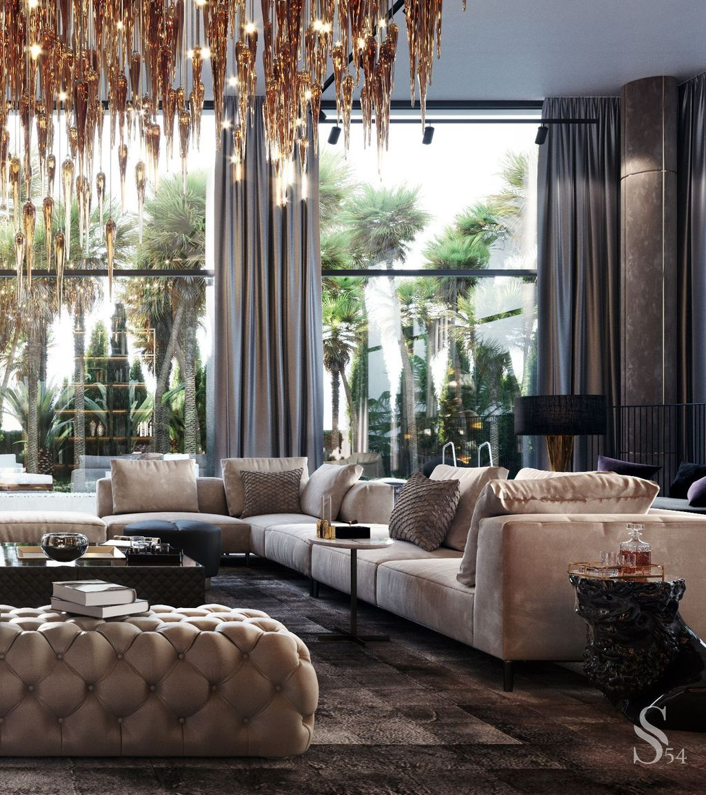 Gorgeous Luxury Modern Furniture For Living Room 17