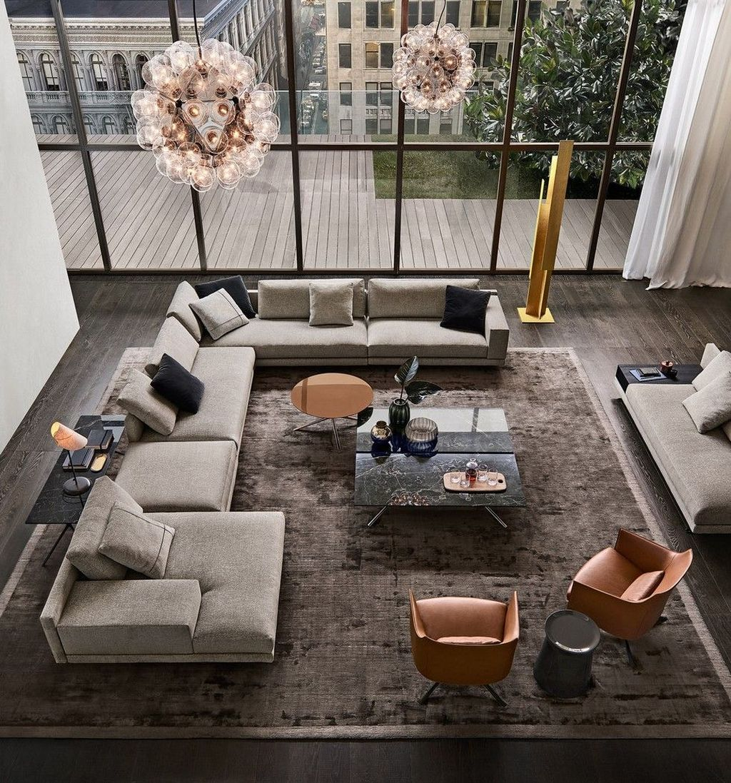 Gorgeous Luxury Modern Furniture For Living Room 34