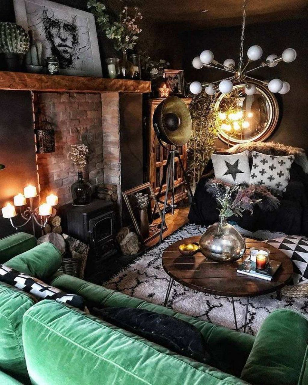 Inspiring Gothic Interior Design Ideas 14
