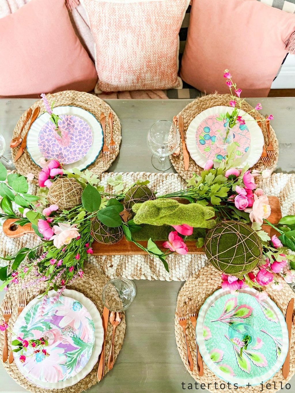 Inspiring Spring Table Centerpieces Best For Dining Room 04