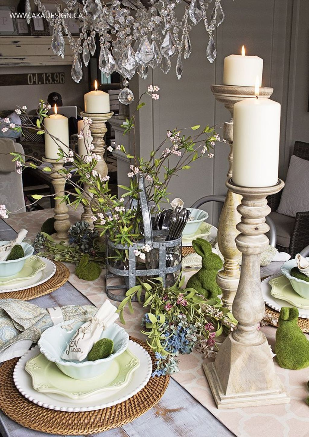 Inspiring Spring Table Centerpieces Best For Dining Room 05